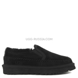 Stitch Slip On Black