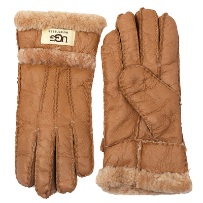 Перчатки UGG Gloves Three Rays Chestnut