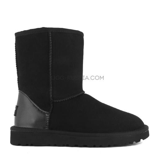 Short Metallic II black
