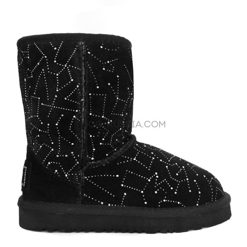 KIDS Classic Short Constellation Black