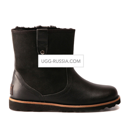UGG Mens Stoneman Short Black