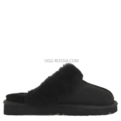 Slipper Scufette Double Black