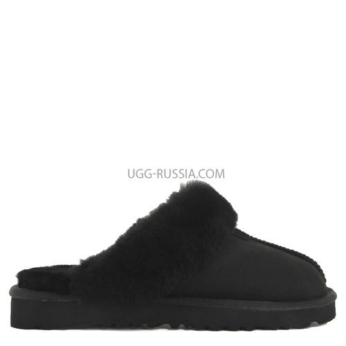 UGG Slipper Scufette Double Black