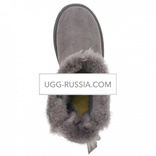 UGG Bailey Bow Mini Medallion Grey