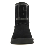Classic Short Rubber Boot Black