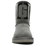 Classic Short Rubber Boot Grey