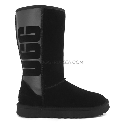 Classic Tall Rubber Boot Black