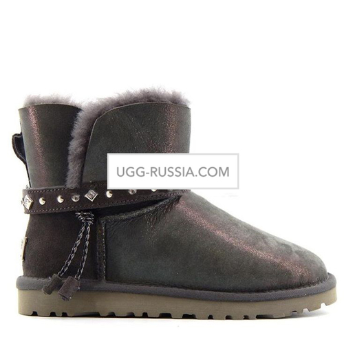 UGG Women's Renn Glitter Metallic Grey