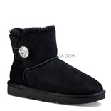 UGG Bailey Button Mini Bling Black