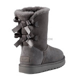 Kids Bailey Bow Grey