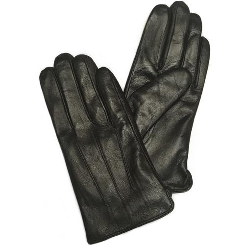 Перчатки кожаные Черные