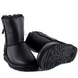 Siberia Classic Short Zip Metallic Black