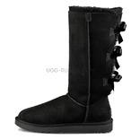 UGG Bailey Bow Tall Black
