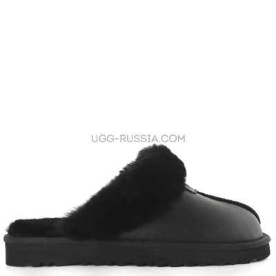 Slippers Scufette Metallic Black