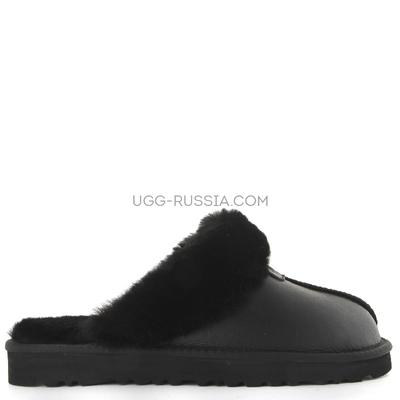 Slippers Scufette Metallic Black