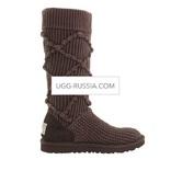 UGG Argyle Knit Chocolate