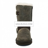 UGG Classic Short Dylyn Bomber Chocolate