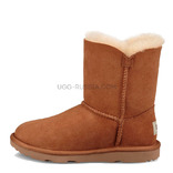 UGG KIDS Bailey Button Chestnut
