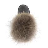 UGG Mini Fox Fur Grey