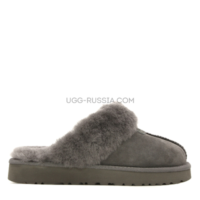 Slipper Scufette Grey