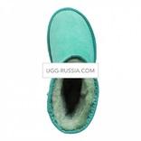 UGG Classic Short Aqua