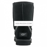 UGG Classic Short Rainbow Black