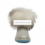 UGG Mini Fox Fur Metallic I Do