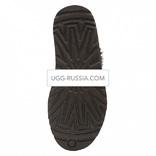 UGG Classic Mini ZIP Metaliic Chocolate