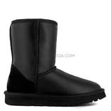 UGG MENS Classic Short Metallic Black