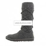 UGG Argyle Knit Grey