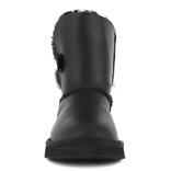 UGG KIDS Bailey Button Metallic Black
