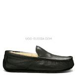 UGG MENS Ascot Metallic Black