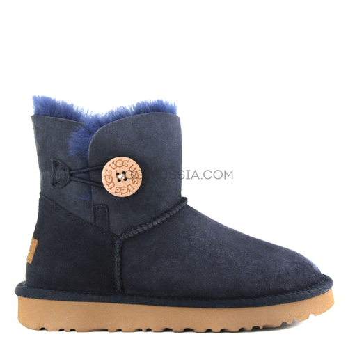 UGG Bailey Button Mini Navy