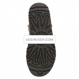 UGG MENS Classic Mini Bomber Chocolate 2