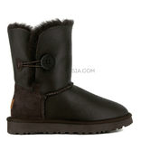 UGG Bailey Button Metallic Chocolate