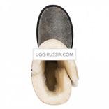 UGG Bailey Button Bomber Black