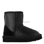 UGG KIDS Classic Short Metallic Black