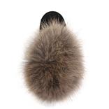 UGG Mini Fox Fur Black