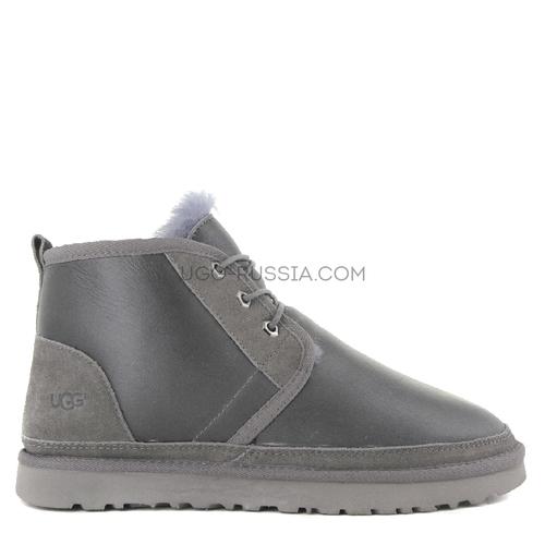 MENS Neumel Boots Metallic Grey