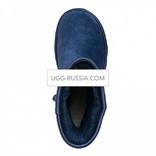 UGG Classic Short Crystal Bow Navy