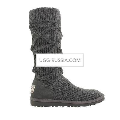 Argyle Knit Grey