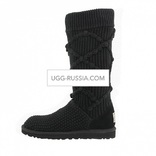UGG Argyle Knit Black
