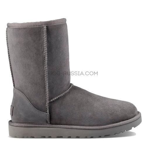 UGG MENS Classic Short Grey