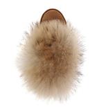UGG Mini Fox Fur Chestnut