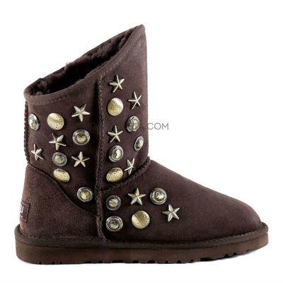 UGG Jimmy Choo Starlit Chocolate
