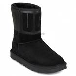 Classic Short Rubber Boot Black