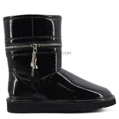 JimmyChoo Zipper Black