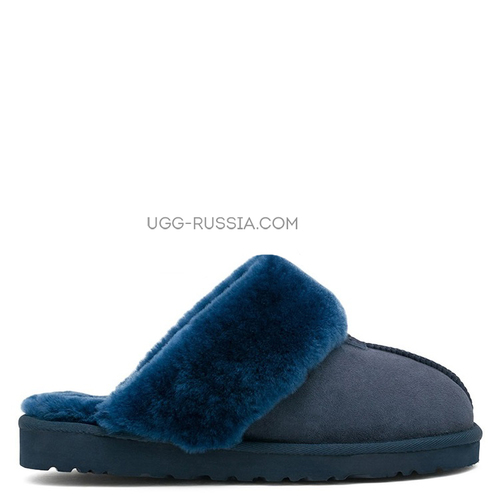 UGG Slippers Scufette Navy