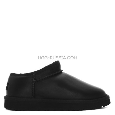 UGG Ultra Mini Tasman Metallic Black