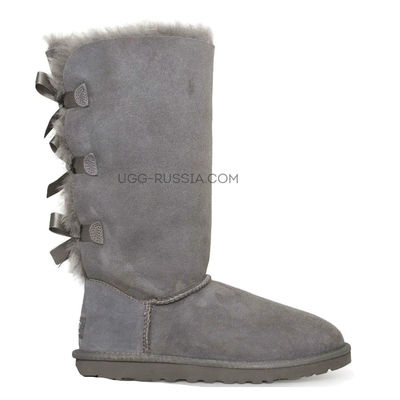 Bailey Bow Tall Grey